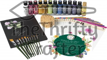 "FolkArt 99228 Donna Dewberry ""Flowers of the Month"" Let's Paint Kit"