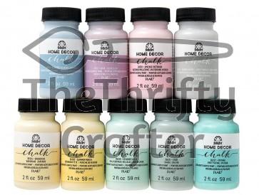FolkArt Home Décor Chalk - Pastel Paint Set (2 Ounce) PROMOFAHDC2