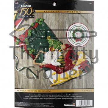 BUCILLA Christmas Baby Stocking Kit