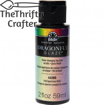 FolkArt Multi-Surface Paint Dragonfly Glaze (2 oz), 44380, Full Spectrum