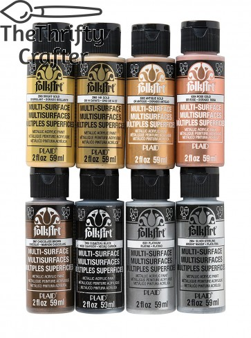 FolkArt PROMOFAMET Multisurface Metallic Paint Set