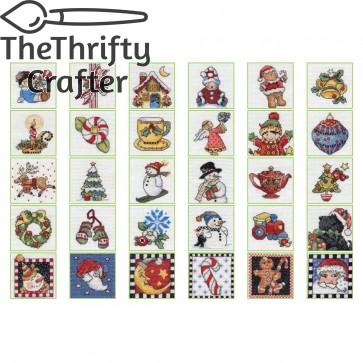 Bucilla Counted Cross Stitch Ornament Kit, 86138 Mary Engelbreit