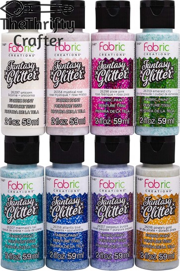 Fabric Creations PROMOFCFG01 the Ultimate Fabric Paint, Multicolor
