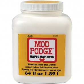 Mod Podge Matte (64 Ounce), CS15092