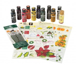 Donna Dewberry One Stroke AD759 holiday kit