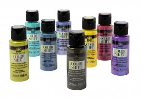 FOLKART Color Shift 8 PC Set PROMOCS8, 2 oz
