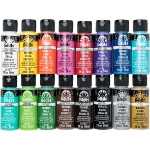PROMOGLS16 Enamel Paint Set