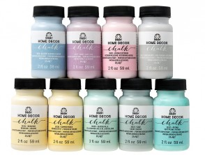 FolkArt Home Décor Chalk - Pastel Paint Set (2 Ounce) PROMOFAHDC2