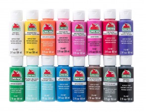 Apple Barrel PROMOABIII 16 pc acrylic paint set