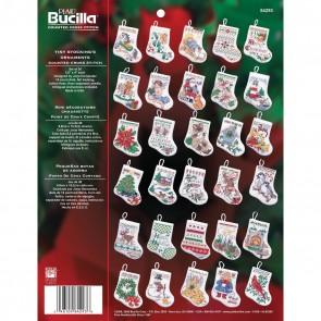 Bucilla Counted Cross Stitch Ornament Kit, 84293 Tiny Stocking