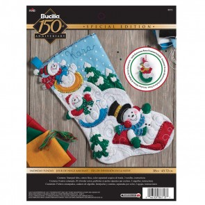 BUCILLA Snowday Funday Stocking Kit