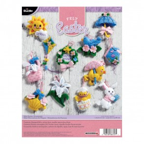 Bucilla Mini Easter Ornaments Felt Applique Kit