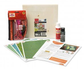 Mod Podge PROMO2646 Decoupage Project Kit