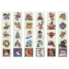 Bucilla Counted Cross Stitch Ornament Kit, 86138 Mary Engelbreit
